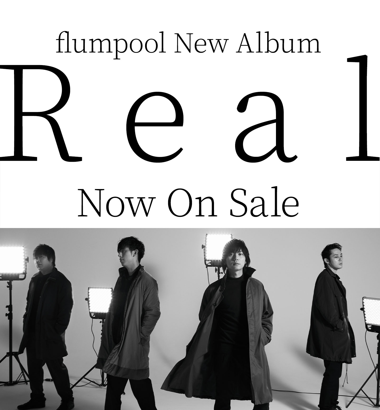 flumpool New Album「Real」Now On Sale