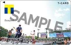 「flumpool×Tカード」ビジュアルsample